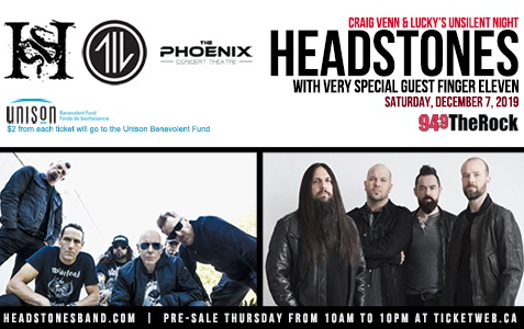 Headstones with Finger Eleven